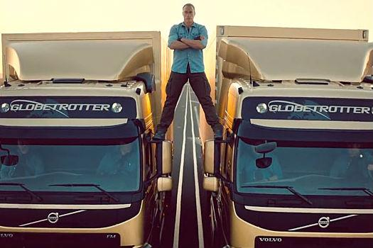 Van Damme Video spot pubblicità Volvo Trucks
