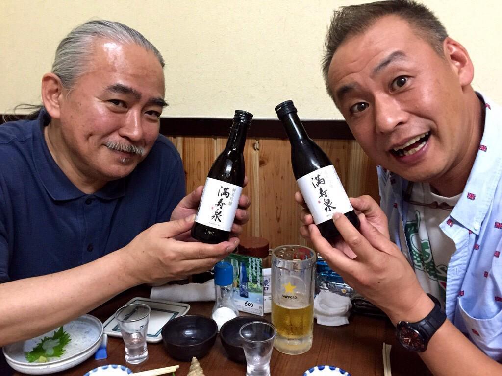 HIROMITSUの為にあるかのような満寿泉と共に高岡の夜は更けて… 白エビうまかったっす♪♪♪ http://t.co/NANpAhWCU7