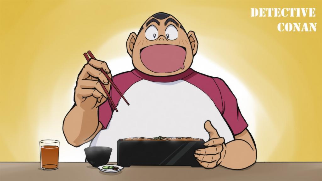 Genta adalah Tokoh Komik Jepang Detektif Conan