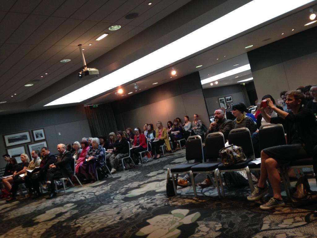 Good turnout! #popdnd http://t.co/Kz2QBiTc4P