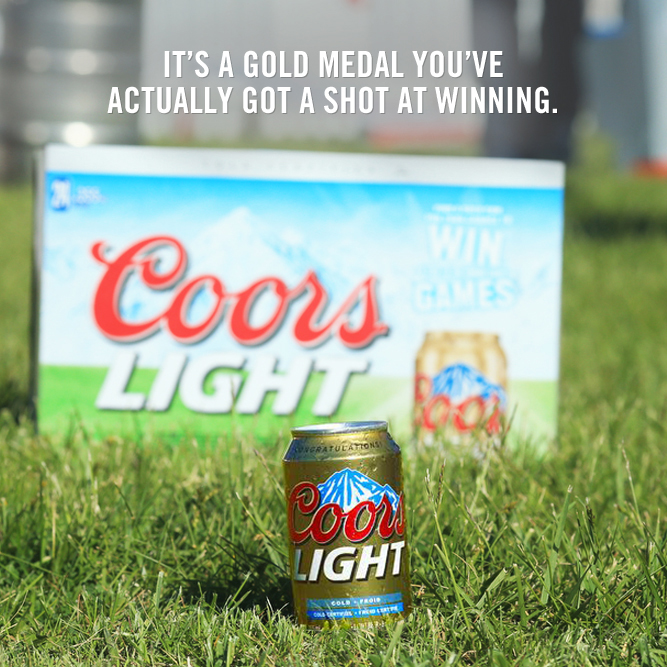 Coors Light Canada On Twitter Find A Gold Can And You Re Going To The Coorslightgames Us Look In Specially Marked Bottle Packs