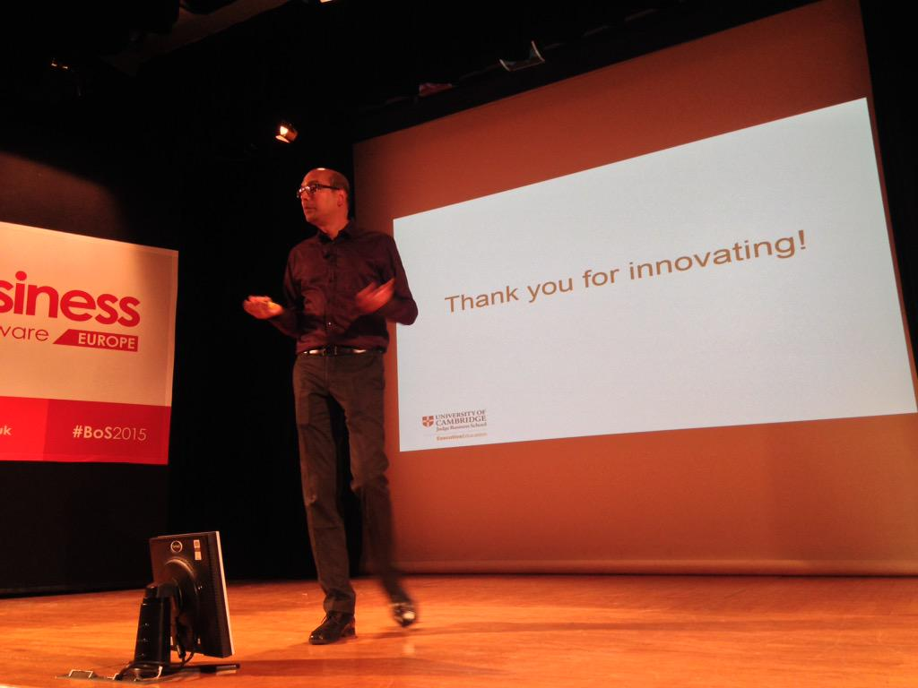 """The thing you have to understand to be successful is the *problem*, NOT the solutions."" @JaideepPrabhu #bos2015 http://t.co/7HOdsib80y"