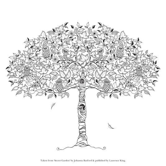 Creative Bloq On Twitter Download This Free Secret Garden