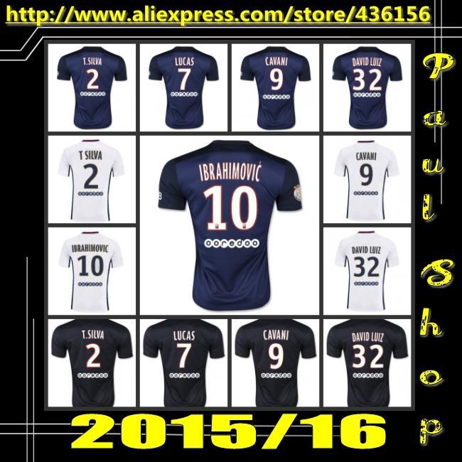 b5feda67a3f ... .aliexpress.com store product Top-Thai-Quality-IBRAHIMOVIC-2015-2016 -Adult-home-away-Soccer-Jersey-CAVANI-DAVID-LUIZ-T-SILVA 436156 32377656808.html  …