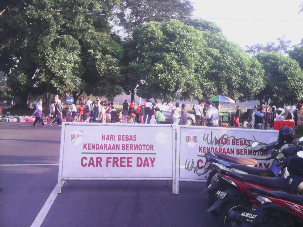 MAGELANG CAR FREE DAY LAPANGAN RINDAM IV DIPONEGORO