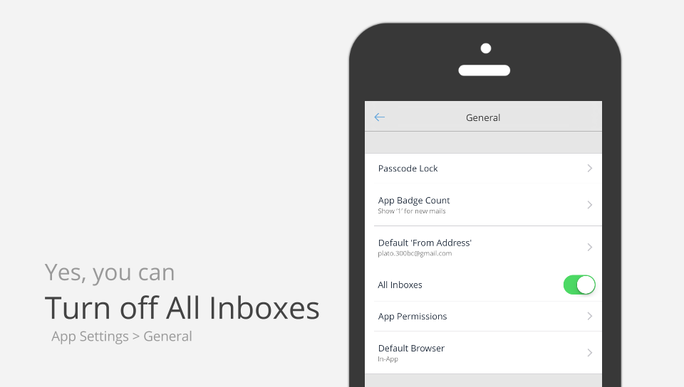 turn off all inboxes gmail