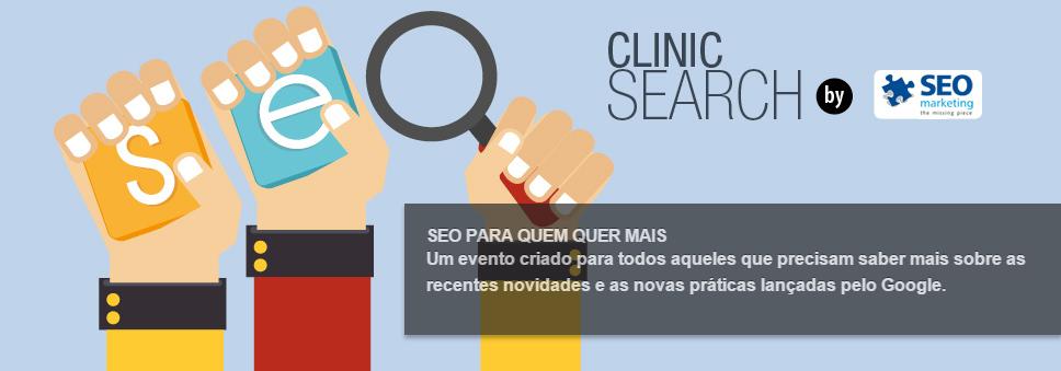 Tá na #eShowBR15? Então não perde o Clinic Search da @seomarketingbr, começa às 14h: http://t.co/WMo1rJo0OA http://t.co/x6EszxYw5x