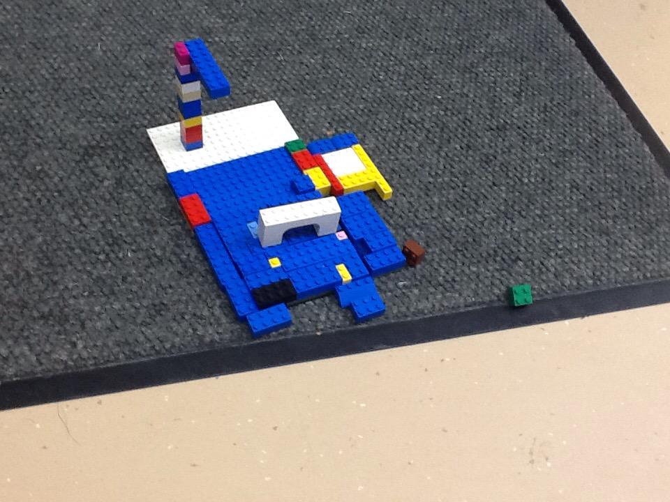 #legochallenge3 This is me and my friends water park we made it out of lego. By Carlos And Karamvir. http://t.co/9miOGxLeEA