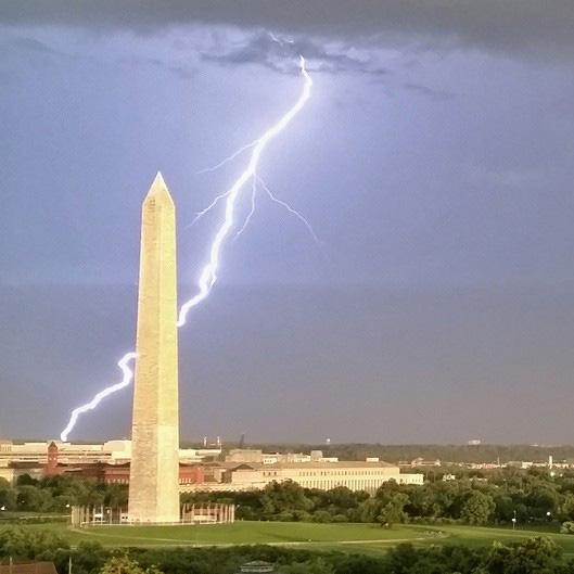 The big storm in DC last night made for a great photo from the roof of our HQ. http://t.co/Bhwr09mQsH