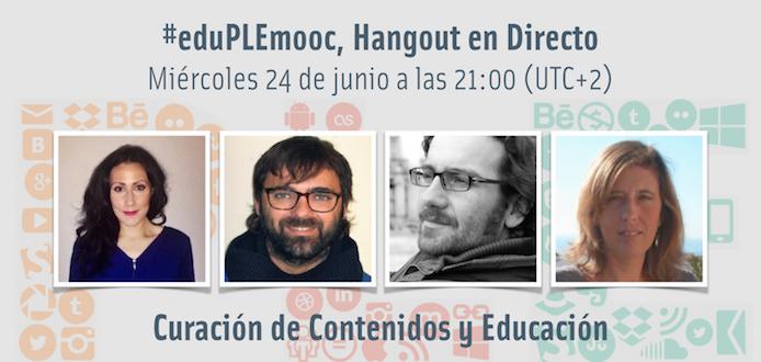 El último webinar de #eduPLEmooc comienza en 1 hora. ¿Conoces a nuestros/as invitados/as? http://t.co/BU5VWynfKZ http://t.co/pLh2kXCwlX
