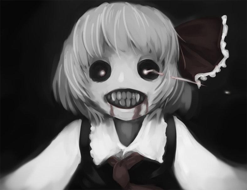 Scary girl