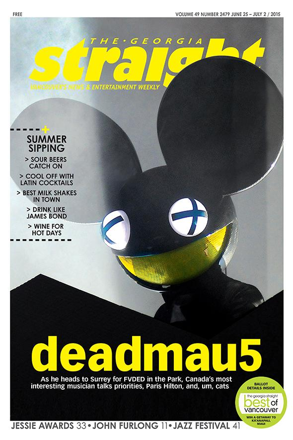 Cover story: @deadmau5 on cats, Paris Hilton, and more http://t.co/2JSkhWEsrT #deadmau5 #FVDED2015 @FVDEDinthePARK http://t.co/eYyqV0XMAV