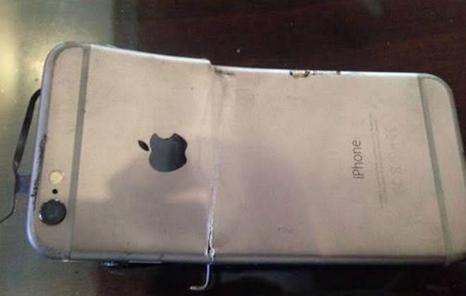 iPhone 6 explode durante uma ligação na Índia: http://t.co/0Zazrg2ctp