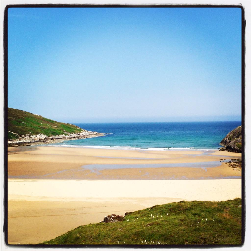A4 Melvich beach of course! Closely followed by this one, Achininver Beach at Melness #ScotlandHour #venturenorth http://t.co/Zm6btwwPC7