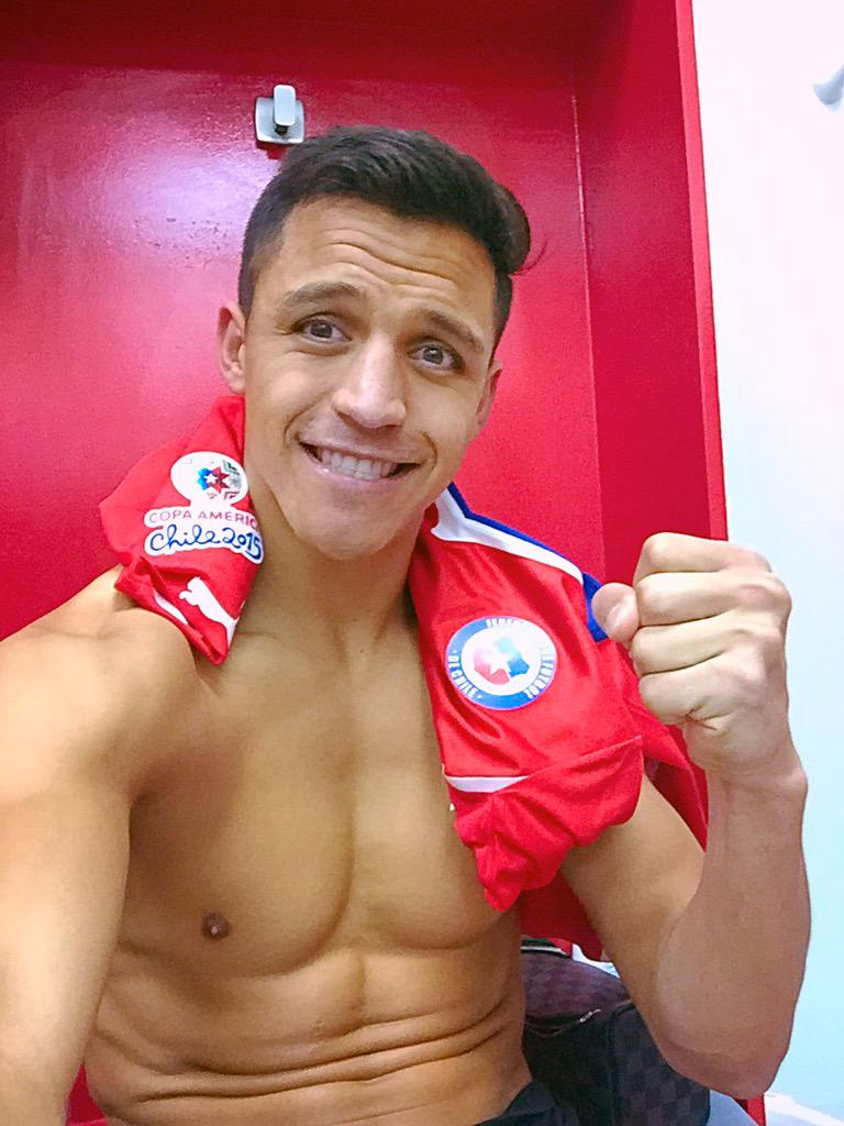 "Arsenal striker Alexis Sanchez branded ""cry-baby"" for Uruguay rant"