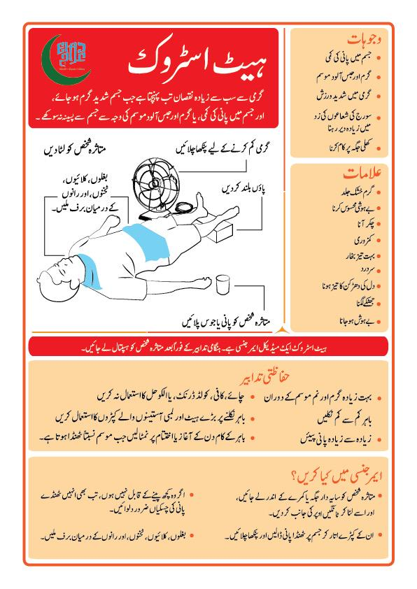 Elaj Trust On Twitter Symptoms Of Heat Stroke And Its Precautions In Urdu Please Print Out And Distribute It Beattheheat Http T Co Ybkc6ayf1c