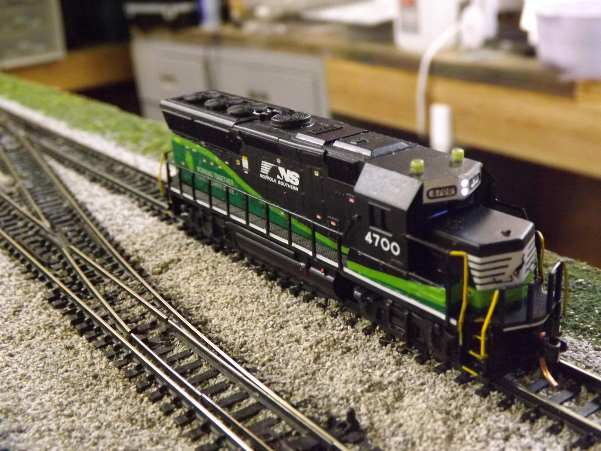 Midland valley ry on twitter n scale nscorp gp33eco done or at least a fairly close approximation thereof custom decals