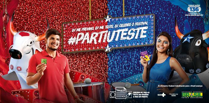 P/um momento #Caprichoso tenha sempre um preservativo #Garantido! E não fique na dúvida #PartiuTeste #Parintins50Anos