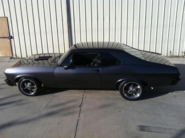 Blacked Out Chevy Nova Scoopnest