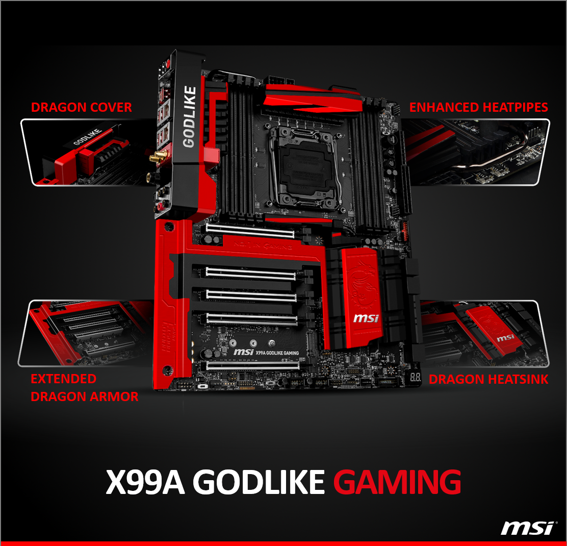Msi Gaming Usa On Twitter Our X99a Godlike Mb Is Designed To Provide Gamers W The Best In Class Features Technology Msigaming