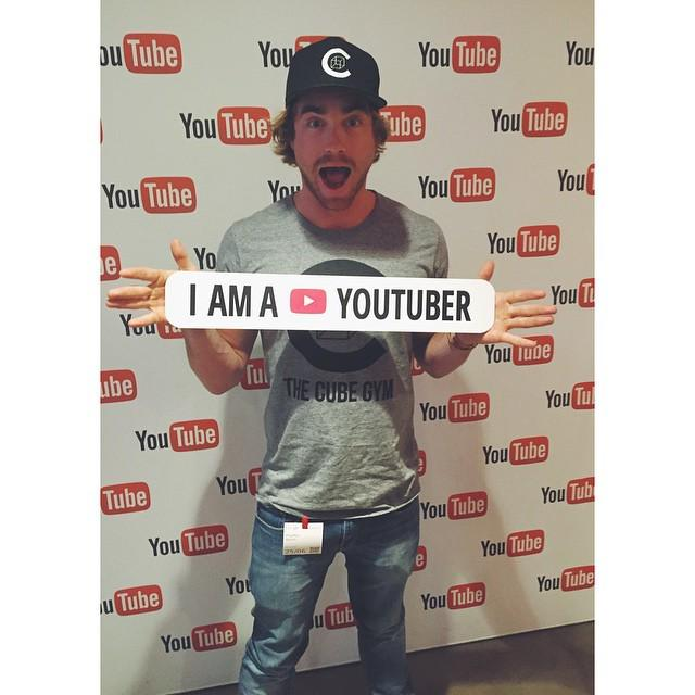 Wooooo yes I am a YouTuber!  http://t.co/puTaVB4WDG  Learning lots out at @Google HQ in … http://t.co/KzpM2BfiFV http://t.co/tlWTrSNZvc