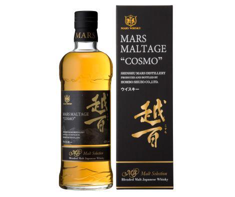 本坊酒造「マルス モルテージ越百(こすも) モルトセレクション」7月上旬新発売! 中央アルプスの「越百山」にちなんだマルス(火星)蒸溜所のブレンデッドモルト…ジャパニーズウイスキー界に、新たなスターの誕生です! #whisky