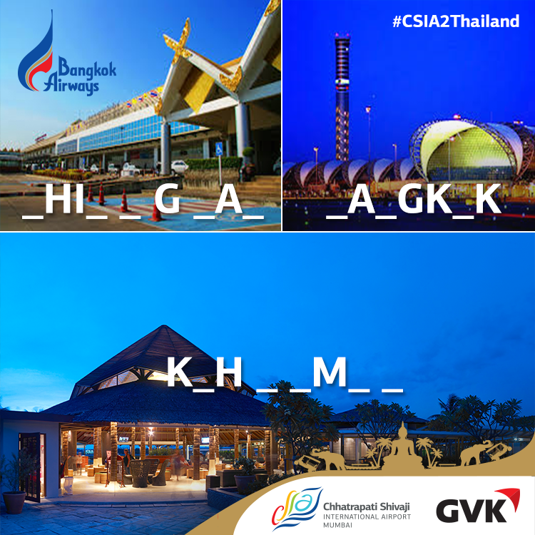Guess the names of these three @bangkok_airways hubs in Thailand & you could fly there! #CSIA2Thailand #Contest http://t.co/VeAaCAsLDf