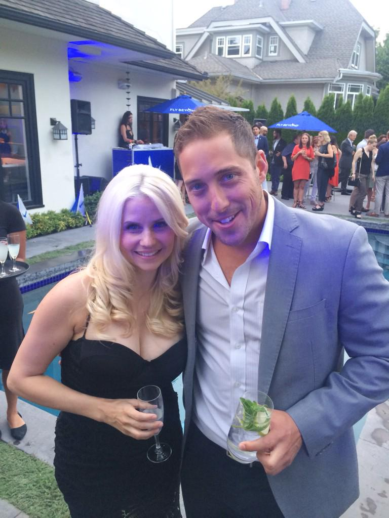 So great running into this guy tonight @csviolette @GreyGooseCanada #SummerSoiree http://t.co/dF0Ya1B3Lj