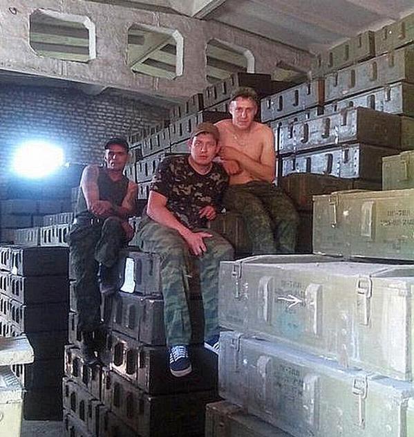 """Ситуация на донецком направлении обостряется: боевики все чаще применяют зажигательные мины, - пресс-офицер сектора """"Б"""" - Цензор.НЕТ 6925"""