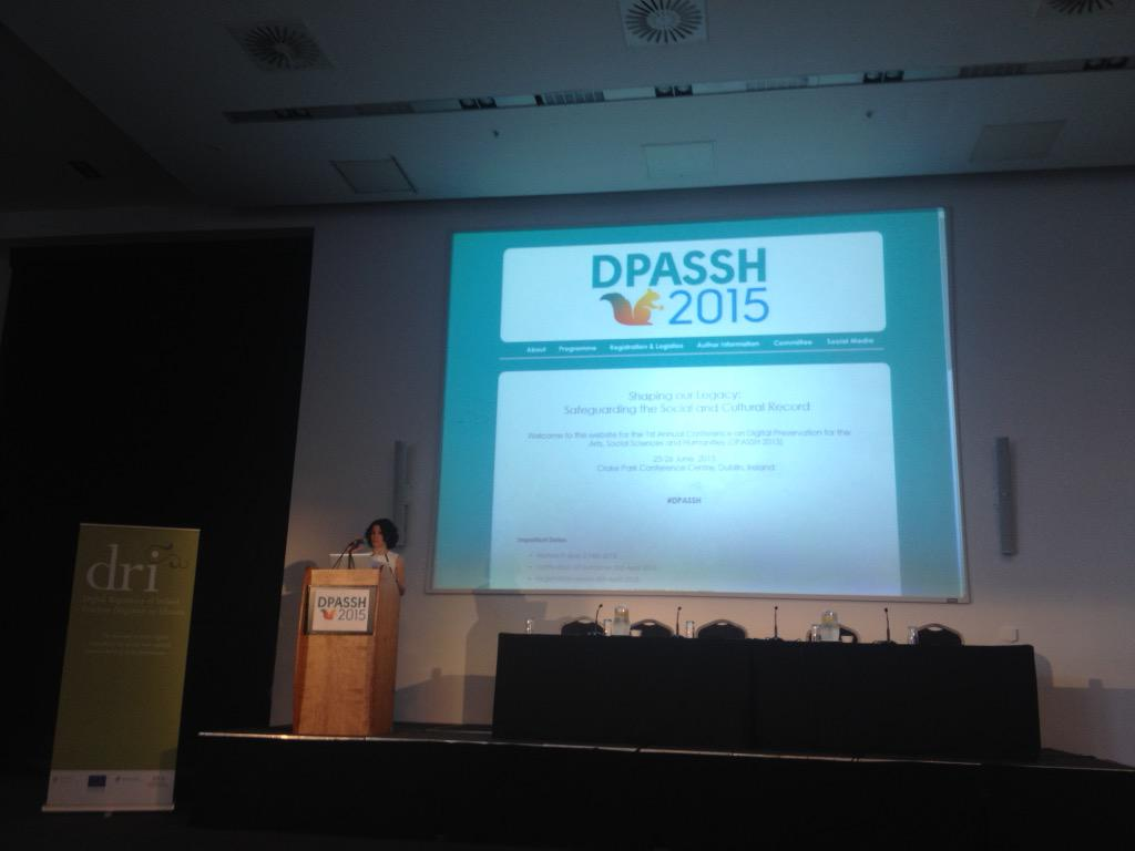 .@natalieharrower liking off #DPASSH conference today. Looking forward to two very exciting days. http://t.co/0p2JbIYpf0