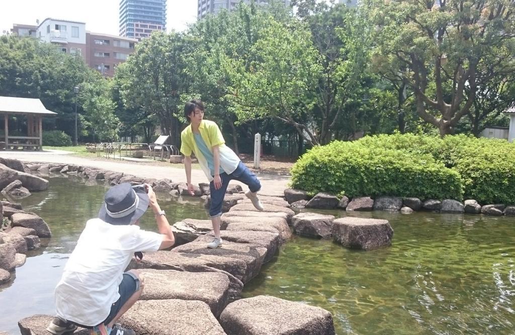 7/15(水)発売「TVガイドdan vol.6〈夏男子〉」で取材して頂きました!水辺に遊ぶ可愛い鳥や魚が泳ぐ姿も見られて楽しかったロケ。高杉さんもいつもよりちょっと割増の笑顔。今回はポスターにも登場です!