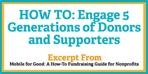 #MCON HOW TO: Engage 5 Generations of Donors and Supporters: http://t.co/kJchn0UjqC http://t.co/XPRQDitZJJ
