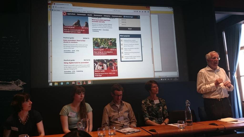 """Next session at #sjss15 """"meet the editors"""" @absw @royalsociety http://t.co/b3FkMHgz2K"""