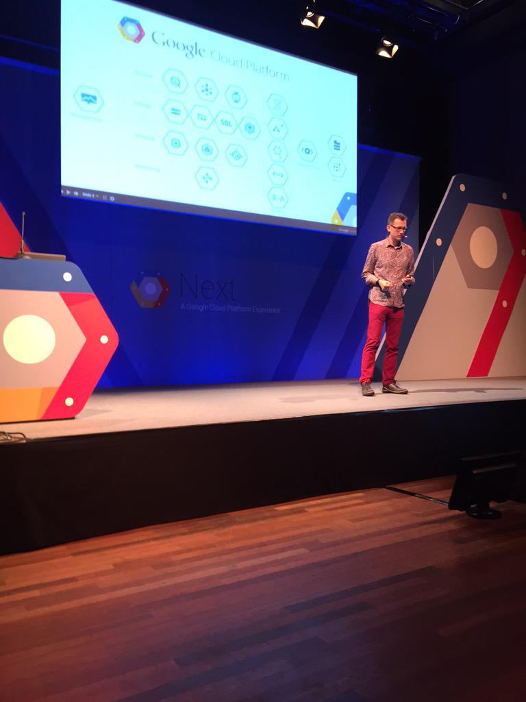 .@fotwit kicks off ITDM track with google compute at #GoogleNext with @Adman_NZ @fastly http://t.co/38wJPcRxXn