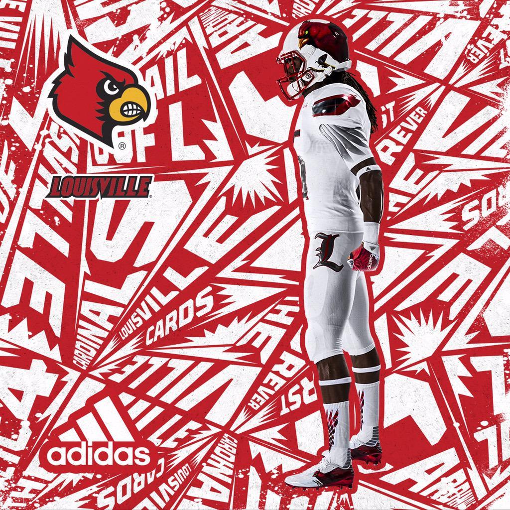We've gotta talk about Louisville's new football uniforms ...