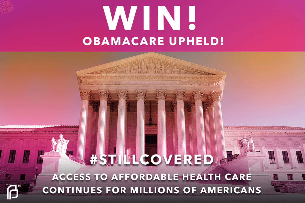 BREAKING: #SCOTUS King v Burwell ruling ensures people keep their affordable health care through Obamacare! #FTW http://t.co/P1WMp0YXET
