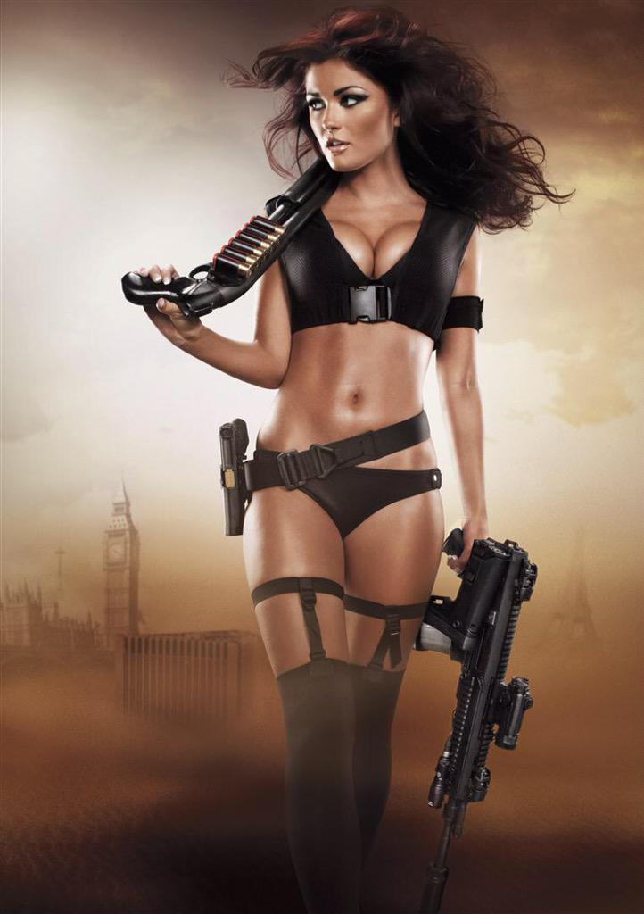 #tbt of smoking Hot @missireynolds for our 2012 calendar. #LA #Hotshots #2012 #GirlsandGuns http://t.co/WPSDRF7UG2