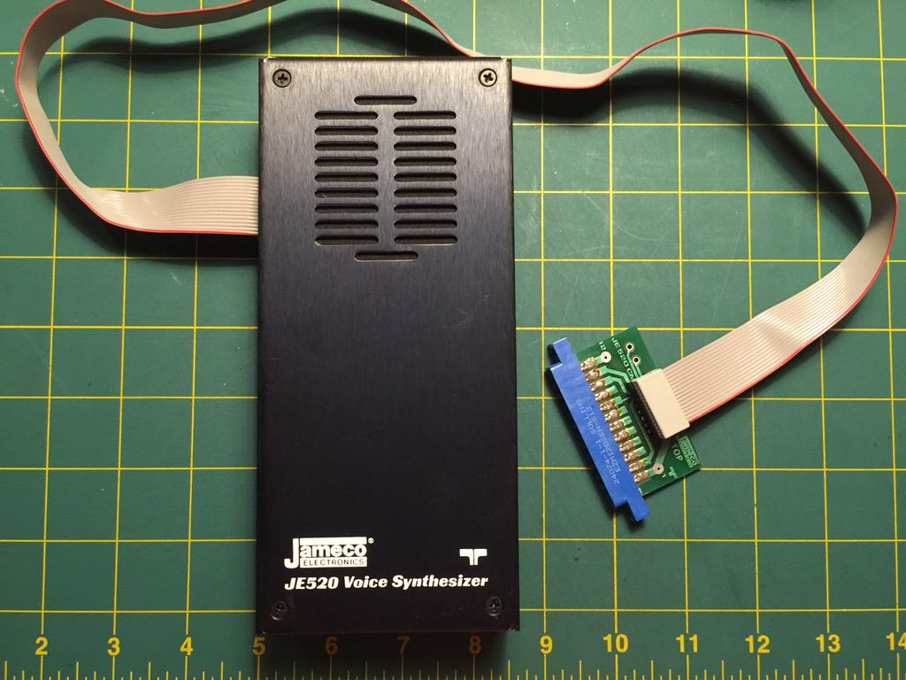 Jameco JE520 Voice Synthesizer for C64