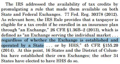 """IRS' use of """"regardless"""" in the rule was a huge neon sign of ignoring the statute. No way that should stand. http://t.co/bROzl9Z6hS"""