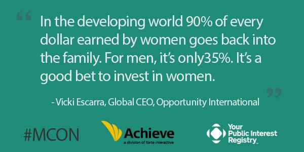 #MCON On the subject of investing in #women to create social and economic change: http://t.co/kl239MWHFD