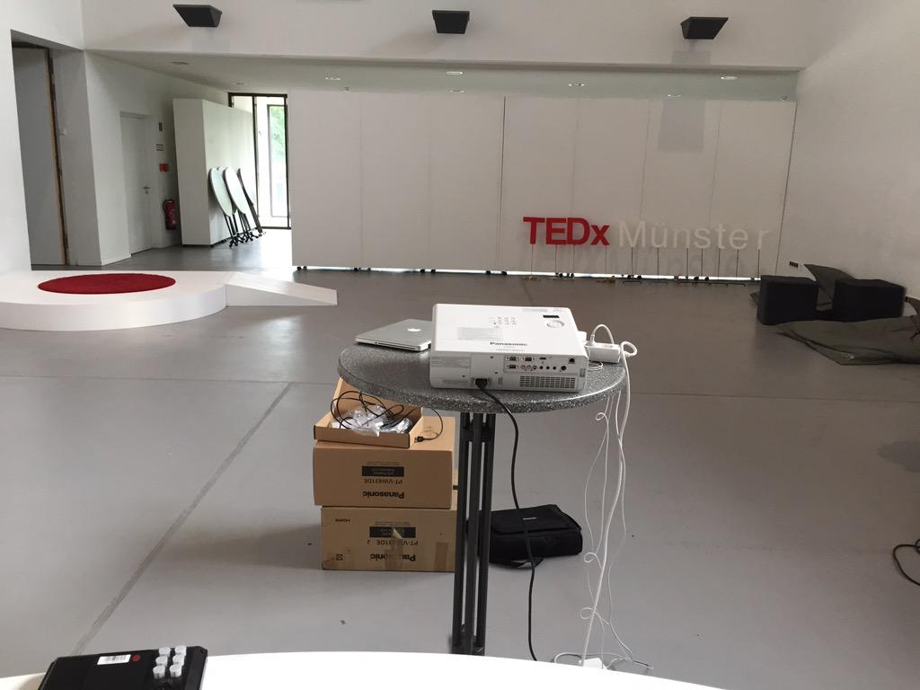 It's going to happen. 19 hours left, rehearsals are done. CU tomorrow! #TEDxMS http://t.co/QVTSUbFdPs