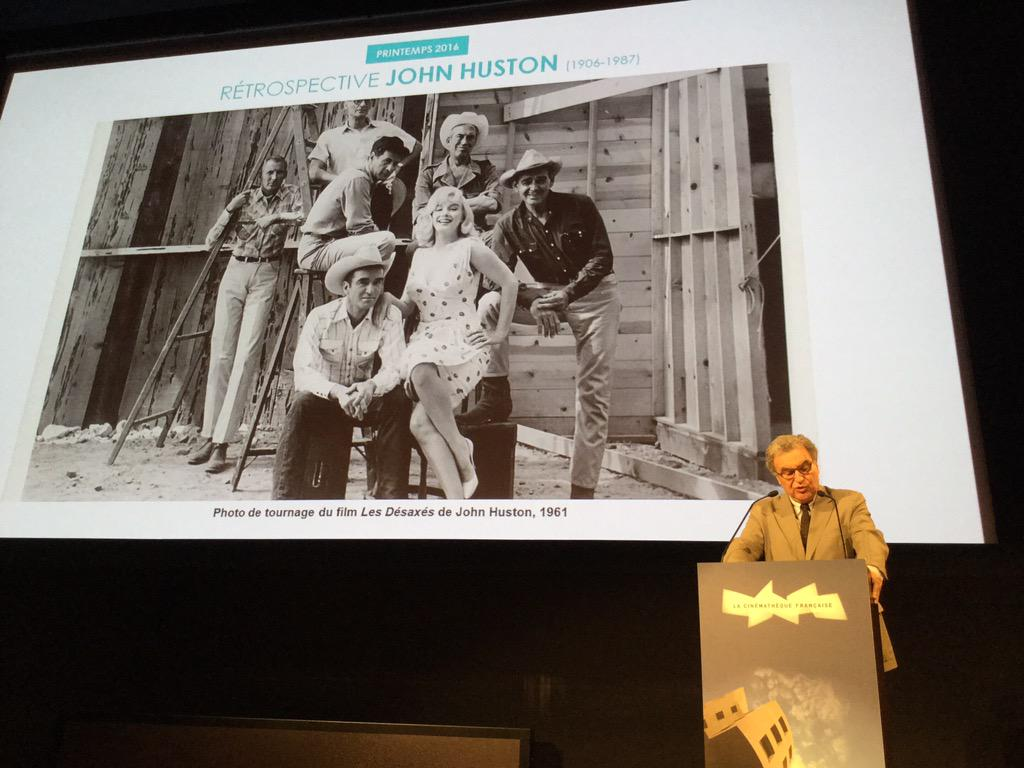 RT @cinemathequefr Rétrospective John Huston.