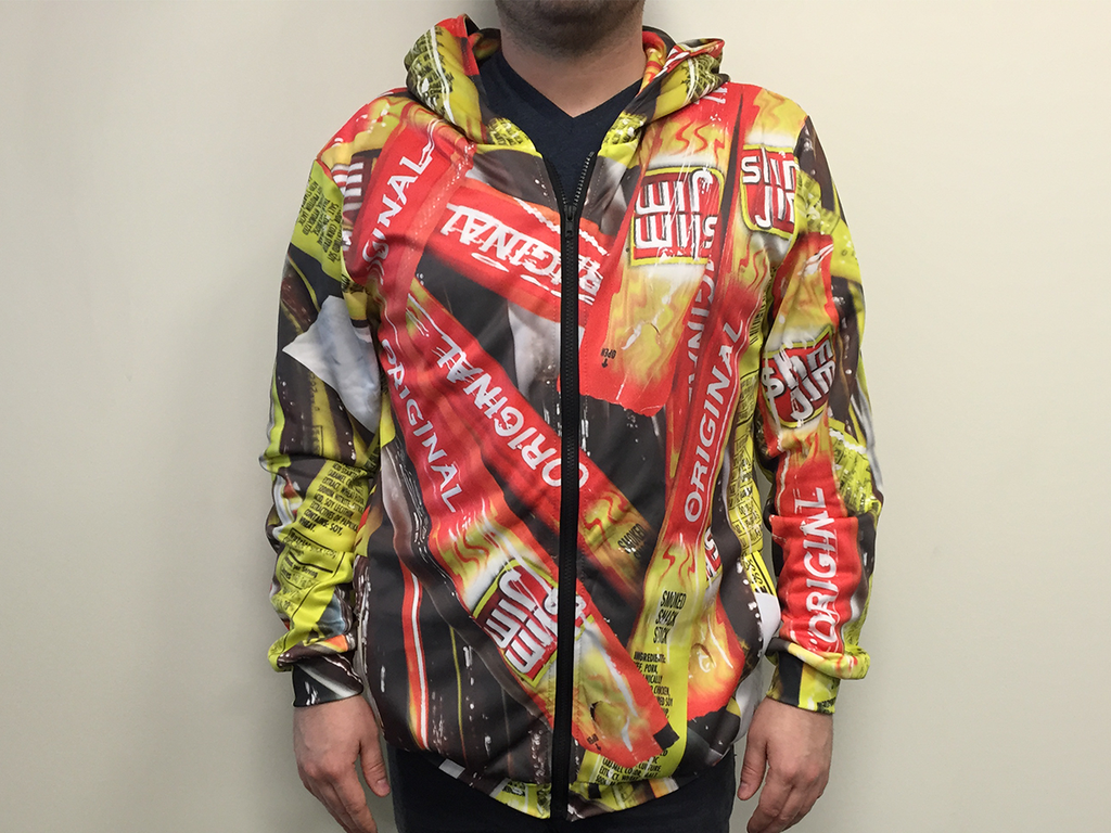 #3WordFashionAdvice: Wear Slim Jim. Just give us a RT to enter for a chance to win this epic Slim Jim hoodie! http://t.co/es2YMZfXAn