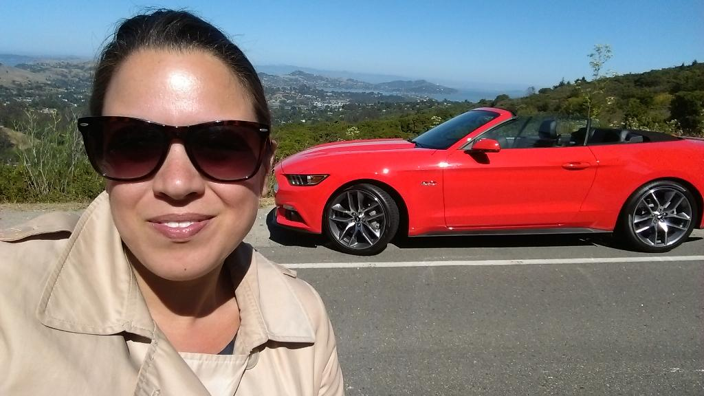Just cruising around SFO in the new Ford Mustang! #FordTrends http://t.co/z5VVpZ9cxk