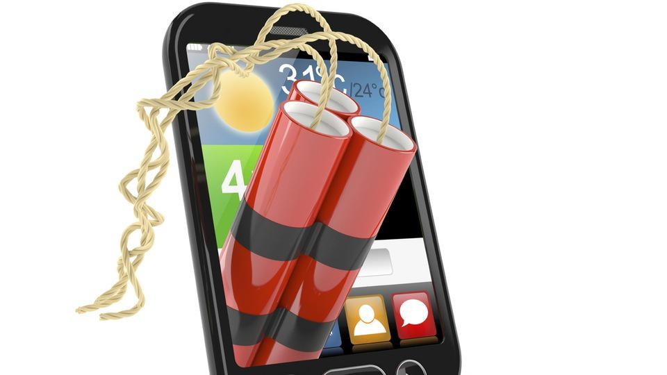 Compra iPhone 6 in India esplode cellulare