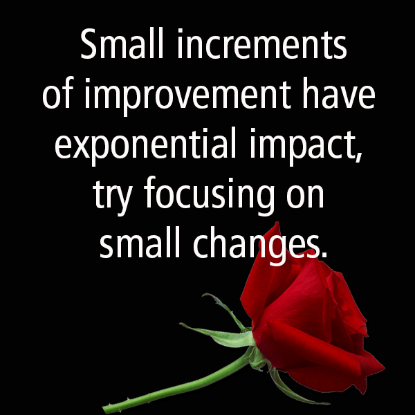 Image result for small changes improvement