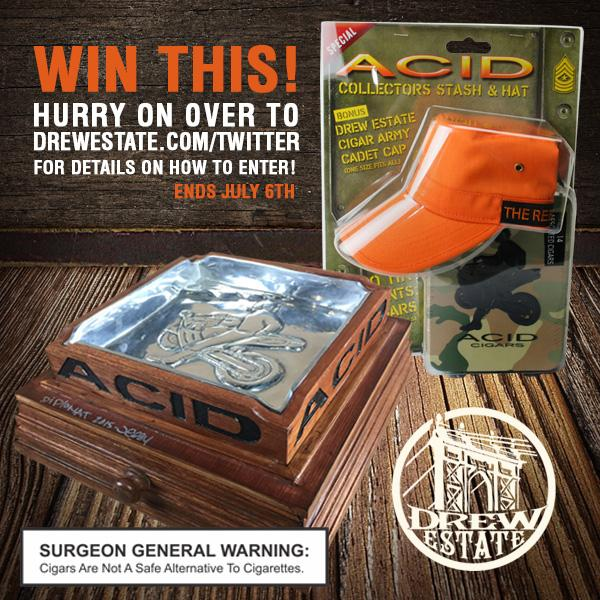 Enter the #DrewEstate 20,000 Follower Giveaway and win a custom Subculture ashtray at http://t.co/MPJCmKcbqU !! http://t.co/LnIixq5H8f