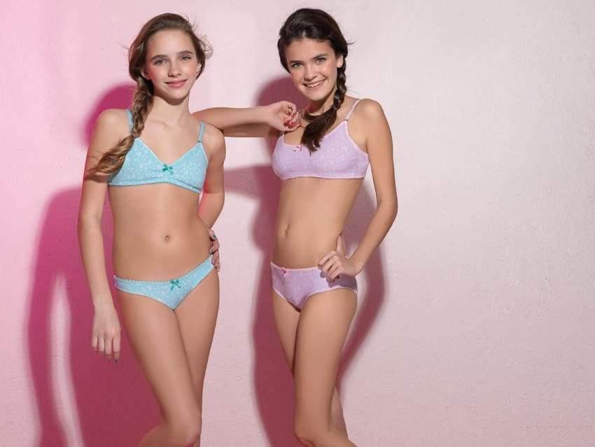 Modelo de pantie adolescente