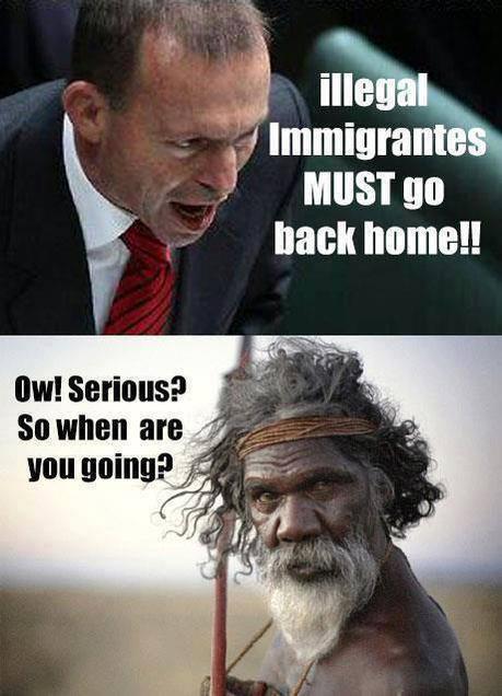 不法移民をディスってるはずのポスターにまさかの展開が!?