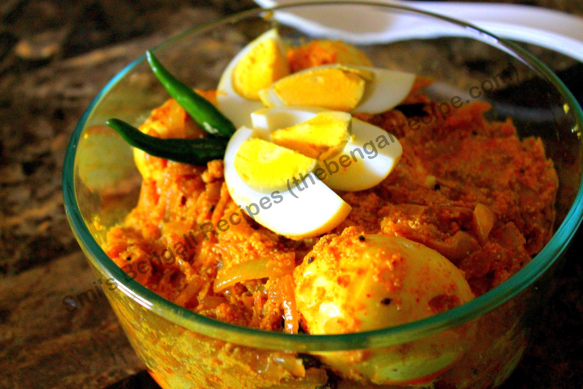 Bengali recipes bengalirecp twitter egg curry in poppy seeds paste httpthebengalirecipeall recipes fish and egg recipes195 dimer posto or bengali egg curry with poppy seed forumfinder Choice Image